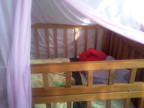 Lucia's bed