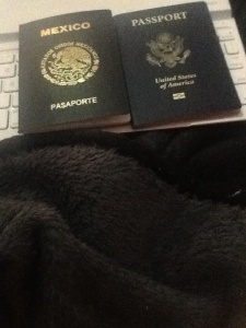 TA-DA! Mission accomplished! Dual passports for our first little dual citizen!